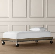 i bed that can roll around i - Twin Wooden Bed Frames