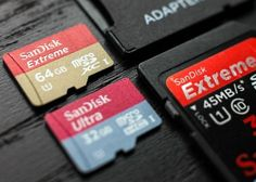The SanDisk Extreme Plus SD Card micro SDXC card actually surpassed the minimum read and write speeds of MBs according to the benchmark tests. Galaxy S7, Top 5, Tech Gadgets, Sd Card, Digital Camera, Usb Flash Drive, Smartphone, Software, Technology