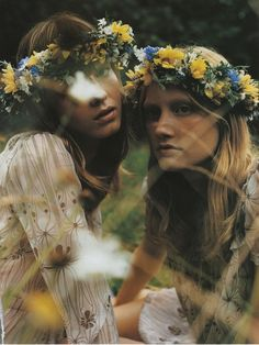 """In a Fairy-Tale Mood"" by Mikael Jansson for Vogue Italia October 2001"