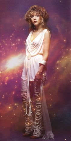 Potential fave...this outfit!!! And my other fave, her lavender boots..I almost want to create a costume for Halloween ..I usually have about 3 for each Halloween lol.I always wanted to be Stevie!!