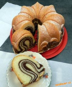 Czech Recipes, Russian Recipes, Turkish Recipes, Bunt Cakes, Cupcake Cakes, Yummy Treats, Yummy Food, Sweet Cakes, Dessert Recipes