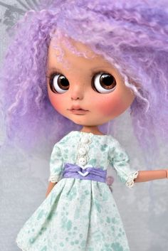 OOAK benutzerdefinierte Blythe Doll AMETHYST von BlytheAdore