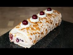 Meringue Roll 🍰 Easy Recipe for Easy Baking ✧ IrinaCooking Light Summer Desserts, Georgian Cuisine, Pumpkin Dishes, Mushroom Dish, Holiday Tables, Rolls Recipe, Special Recipes, Vegetable Dishes, Stuffed Mushrooms