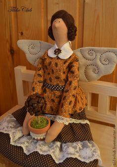 Куклы Тильды ручной работы. Ярмарка Мастеров - ручная работа Кофейная фея Тильда. Handmade.