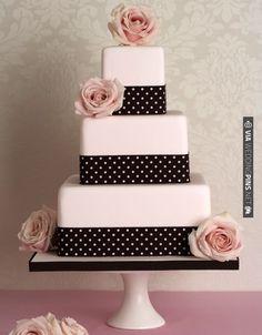 Peggy Porschen Cakes has a selection of Birthday cakes and cupcakes. Pink Black Weddings, Black Wedding Cakes, Wedding Cakes With Flowers, Bow Wedding, Wedding Shoes, Gorgeous Cakes, Pretty Cakes, Pastel Rectangular, Bolo Fack