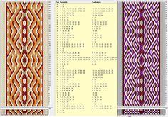 38 tarjetas, 4 colores, repite cada 28 movimientos // sed_618 diseñado en GTT༺❁