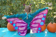 These cute no-sew Halloween costumes are perfect for little gardeners. Learn to make butterfly, dragonfly, bee, scarecrow, ladybug, garden gnome and peacock costumes that                ... See More are sure to make trick-or-treating a blast!                     See Less