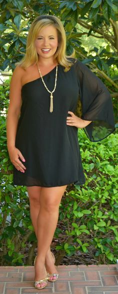 Never Forget You Dress / Tunic - Black - Perfectly Priscilla Boutique
