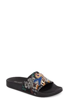 Steve Madden Steve Madden Sparkly Slide Sandal (Women) available at  #Nordstrom