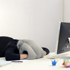 Amazon.com: Studio Banana Things The Original Authentic Ostrich Pillow: Toys & Games