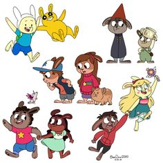 Many Buns by BlueOrca2000.deviantart.com on @DeviantArt