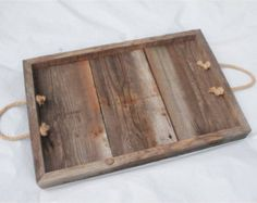 barn wood tray on Etsy, a global handmade and vintage marketplace.