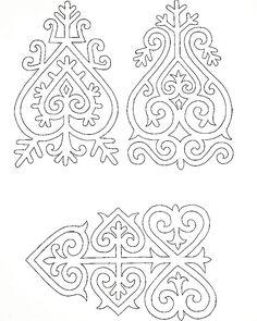 Valszeg honfoglalás kori nemez minta...utánakeresni! Lace Patterns, Embroidery Patterns, Folk Embroidery, Islamic Art Pattern, Pattern Art, Stencil Templates, Stencils, Soutache Pattern, Symbolic Art