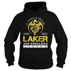 [Hot tshirt name meaning] LAKER An Endless Legend Dragon Last Name Surname T-Shirt Teeshirt Online Hoodies, Tee Shirts