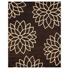 @Overstock - With a distinctive style, a gorgeous area rug from India will add some splendor to any decor. This area rug is hand-tufted with a floral pattern in shades of black and white.http://www.overstock.com/Worldstock-Fair-Trade/Indo-Hand-tufted-Black-White-Wool-Rug-8-x-10/6793864/product.html?CID=214117 $445.99