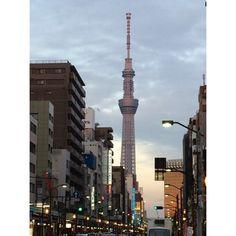 (Made with #NoCrop) #sunset  #asakusa