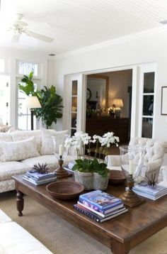 Home Interior Contemporary neutral_living_room.Home Interior Contemporary neutral_living_room Boho Chic Living Room, Home Living Room, Living Room Designs, Living Room Decor, Living Spaces, Coffee Table Styling, Decorating Coffee Tables, Coffe Table, How To Style Coffee Table