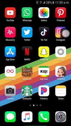 Iphone home screen layout, iphone layout, phone organization