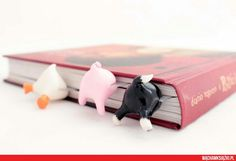 polymer clay bookmarker