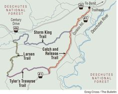 Storm King-Tyler's Traverse ride offers singletrack options; Fall into this loop west of Bend
