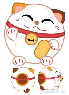 squishable.com: Squishable Maneki Neko. An Adorable Fuzzy Plush to Snurfle and Squeeze!