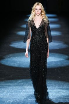 All of the Best Gowns from NYFW Fall 2016 - The Prettiest Dresses from the Fall Collections