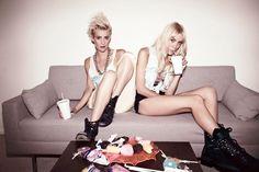 Mim and Liv Nervo, The Nervo Twins.