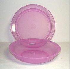 Tupperware Impressions Double Plate Lavender by Tupperware. $10.98