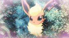 I've never been a big Flareon fan myself, just never given it much thought, but after I saw this in the anime I noticed how incredibly beautiful it is. Those eyes. Pokemon Gif, Pokemon Eevee Evolutions, Pokemon Comics, Cute Pokemon Pictures, Cute Pictures, Izu, Pikachu, Budget Planer, Fanart