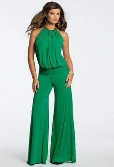 Sleek, sexy, and chic this party ready jumpsuit is must have for this season! This outfit was made for a fabulous night out or stylish gathering with friends