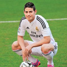 Comprar camiseta James Real Madrid primera 2014-2015