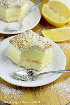 Polish Desserts, Polish Recipes, Sweet Recipes, Cake Recipes, Dessert Recipes, Sweets Cake, Baked Goods, Delicious Desserts, Cheesecake