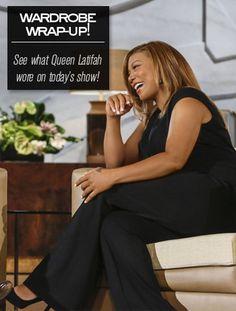Queen Latifah's Wardrobe Wrap-up 10.30.13