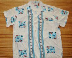 Vintage Duke Kahanamoku Hawaiian Shirt by thehanashirtco