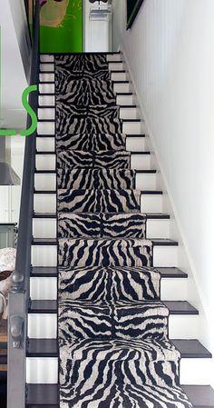 Zebra   Black   Animal Print   Carpet Runners UK | Bar / Home Theater |  Pinterest