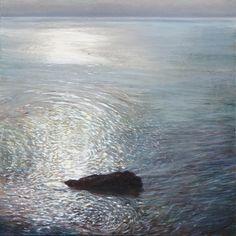 """""""Singular"""" Oil painting by Dawn Adams, www.DawnAdamsPaintings.com Dawn, Waves, Paintings, Oil, Outdoor, Outdoors, Paint, Painting Art, Painting"""