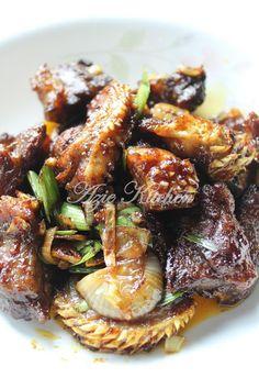 Azie Kitchen: Daging Goreng Berempah