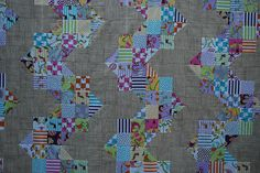 Ups and Downs Quilt by {Karamat}, via Flickr