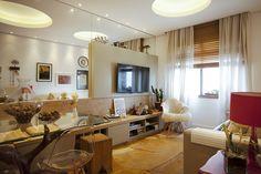 CasaPRO: marcenaria planejada é solução para esta sala pequena - Casa