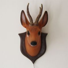 This quirky red deer head lamp would look great in a boy's room ! £49