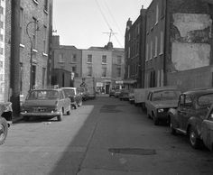 Mark's Alley West looking towards Francis Street, 1969 (via Dublin City Libraries Collection)