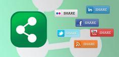 Share button: codici pulsanti di condivisione social network