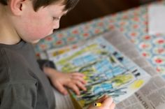 3 Lessons On Blogging from My Son… the Artist