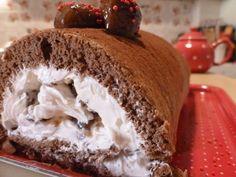 κορμός με κάστανα Pudding, Cooking, Cake, Desserts, Food, Kitchen, Tailgate Desserts, Deserts, Custard Pudding