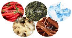 5 alimentos termogênicos para acelerar o metabolismo - Drops das Dez