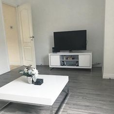 Buy Seconique Charisma High Gloss White TV Cabinet from - the UK's leading online furniture and bed store Furniture 123, White Furniture, Living Room Furniture, Living Room Decor, Furniture Design, White Tv Cabinet, White Sideboard, High Gloss Tv Unit, White Tv Unit