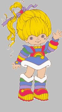 Rainbow Brite // would love to make this costume for my toddler!