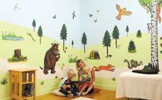 The Gruffalo Room Make-Over Kit 50 Wall Stickers The Gruffalo