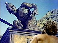 Talos by Ray Harryhausen Jason and the Argonauts (1963). One of my faves!