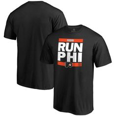 Philadelphia Flyers Run City T-Shirt - Black